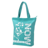 Manufacturer custom logo printed foldable reusable cotton canvas bag made in china