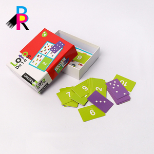 Game playing cards for children