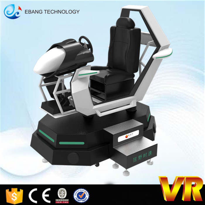 virtual reality ride real racing tracks 9D VR car racing game simulator