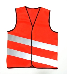 wholesale high visibility child 100 polyester reflective safety vest for kids