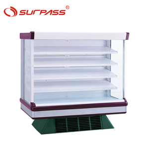 Mulitideck commercial supermarket refrigeration equipment for fruits and vegetable