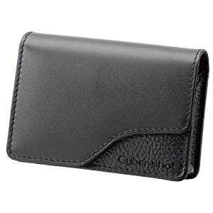 Sony LCS-TWA/B Portfolio Style Soft Leather Black Carrying Case for W and T Series Cyber-shot Cameras