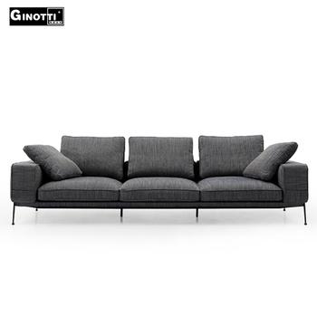 Simple modern sofa set design modern wooden fabric sofa, View fabric ...