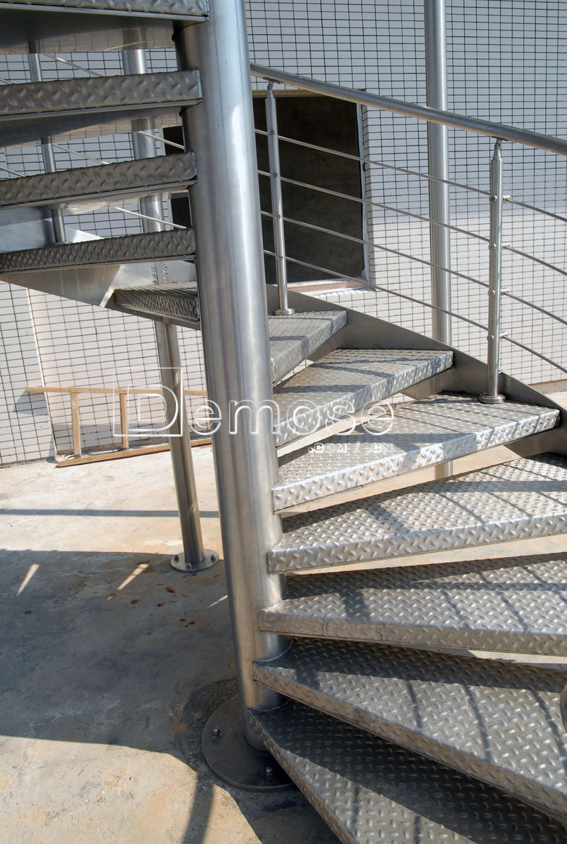Exterior prefabricated iron stairs designs for outside - Exterior metal spiral staircase cost ...