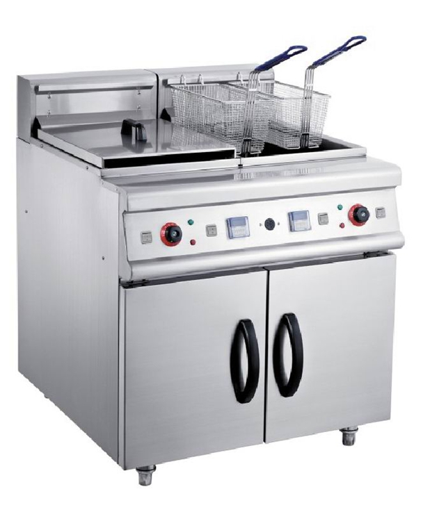 Commercial Electric Industrial Deep Fryer with double tanks