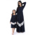 Fall US market hote sale navy lace mommy and me women maxi dress