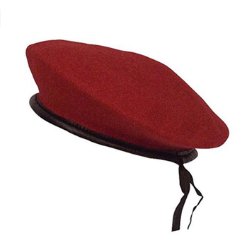 2fe39140 BH03 Navy army military Unlimited wool Beret with Leather Sweatband army  green olive red black adjustable