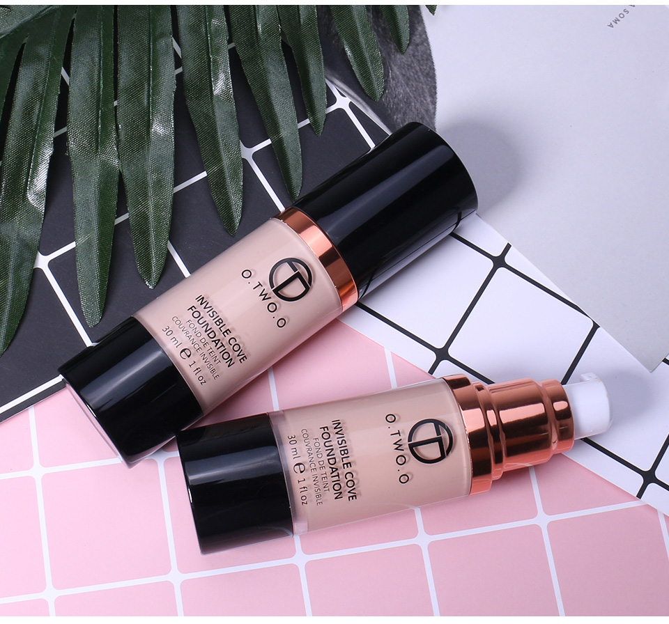 O.TWO.O Cosmetics Foundation Liquid Foundation 4 Matte Color Foundation Soft
