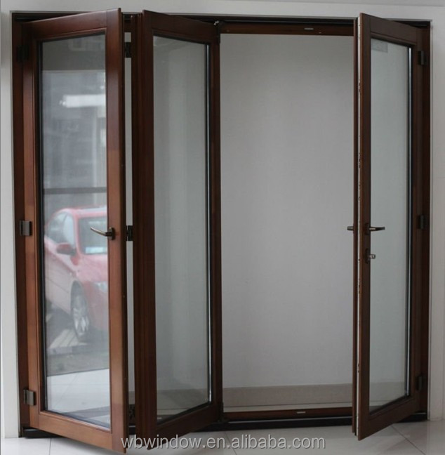 Wholesale PVC horizontal bi-fold doors for comfort room,PVC windows