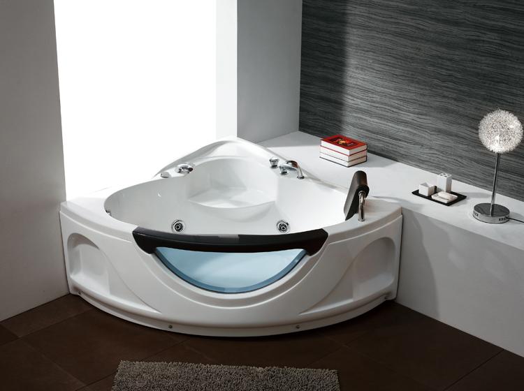 Vasca Da Bagno Trasparente : K 635 sanitari di lusso trasparente in vetro acrilico massaggio