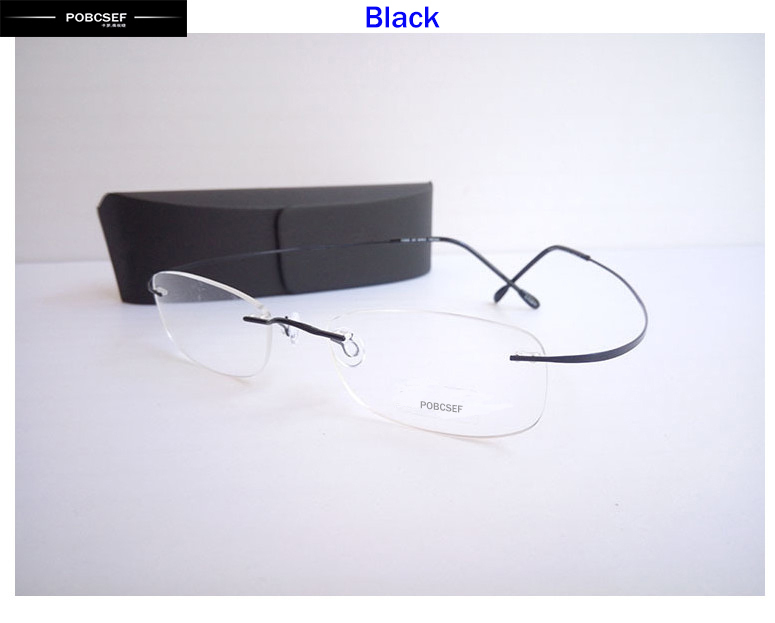 3d89015909 Buy 2015 brand new lightweight glasses frame fashion brand of high quality titanium  eyeglasses rimless titanium optical frame retro in Cheap Price on ...