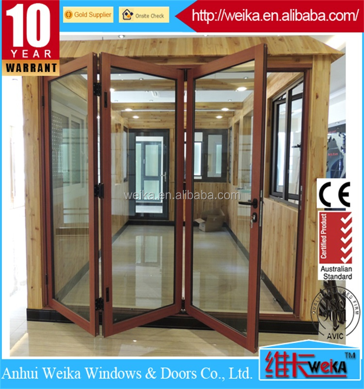 Europe style aluminum folding doors