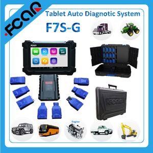 Heavy duty truck and passenger car ECU diagnostic scanner tablet F7S-G