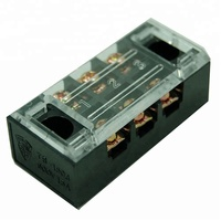 TB-1503 Surface Mount 3 Pole 600V 15 Amp TB Terminal Block