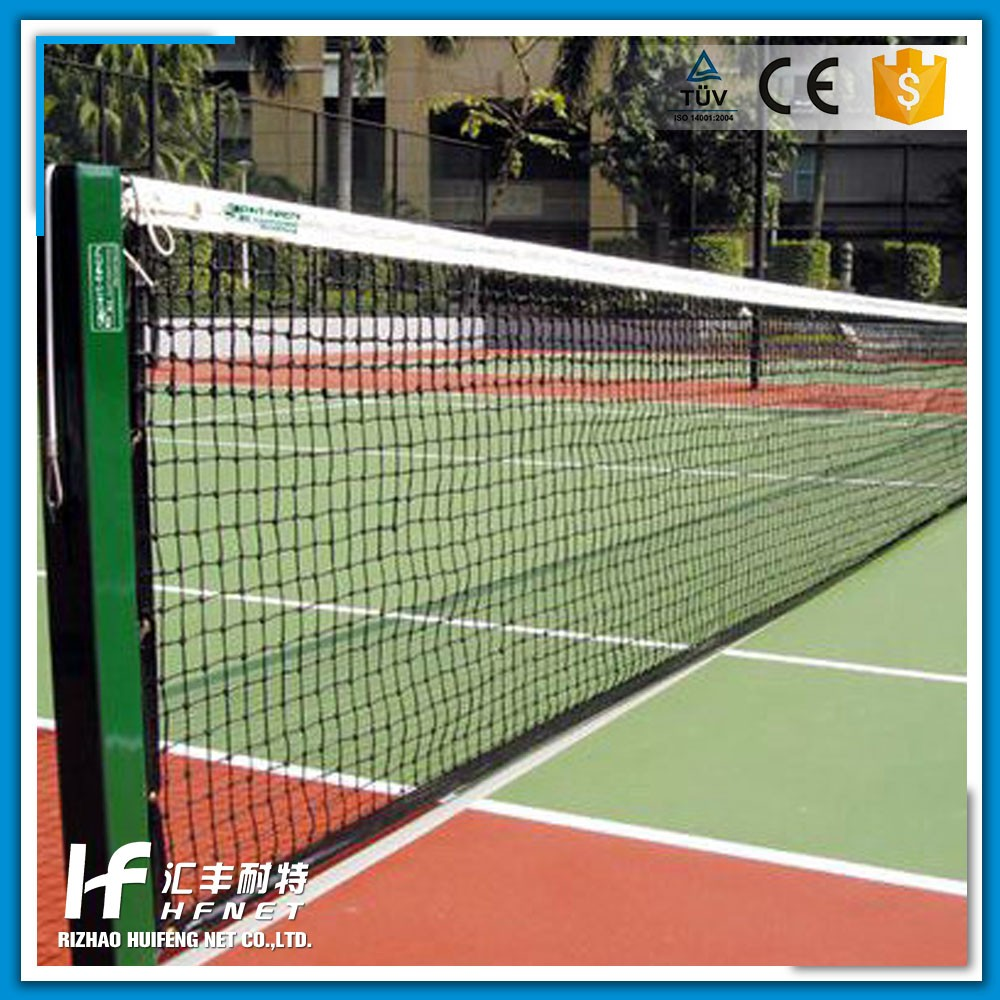 Factory Direct Sale Knitting Nylon Tennis Nets