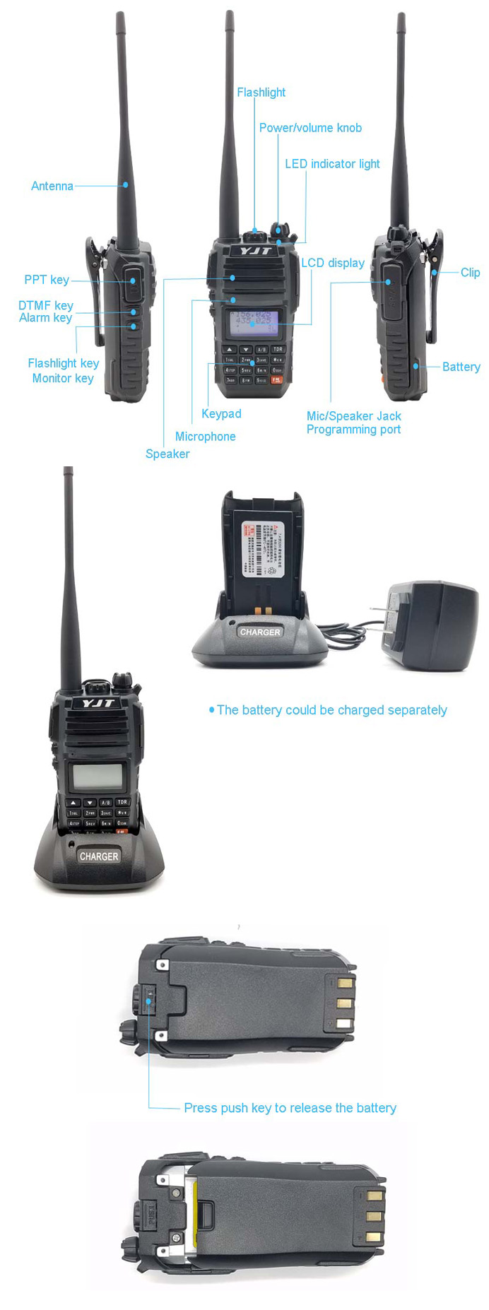 Dual Band Fm Cheap Ham Radio Transceiver Long Range Vhf Uhf Military  Handheld Radio - Buy Handheld Radio,Handheld Military Radio,Radio Vhf Uhf  Product