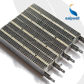 Saip Stainless Steel Ptc Heating Dyer Fin Element Air