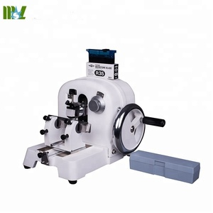 MSLK234 Smooth-running hand wheel, Compact, ergonomic design Rotary hand microtome feather microtome blades