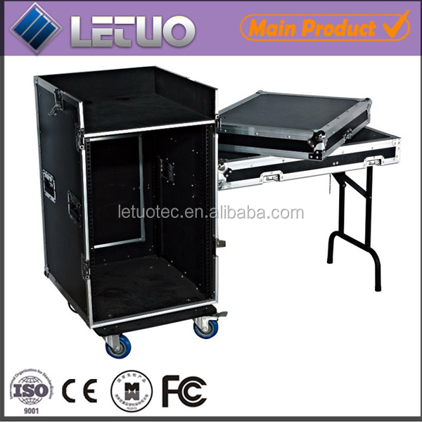 china supplier transport road ata aluminum instrument case cheap dj mixer cable flight case