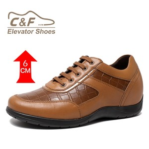 2017 Hot sale men casual shoes/leather sheos/elevator shoes-H71T86V012D