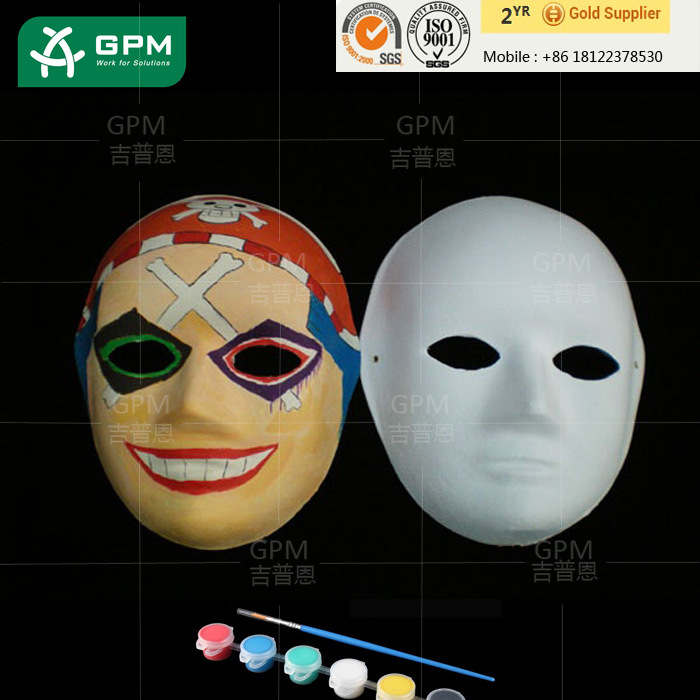 Funny Design DIY children cartoon face mask