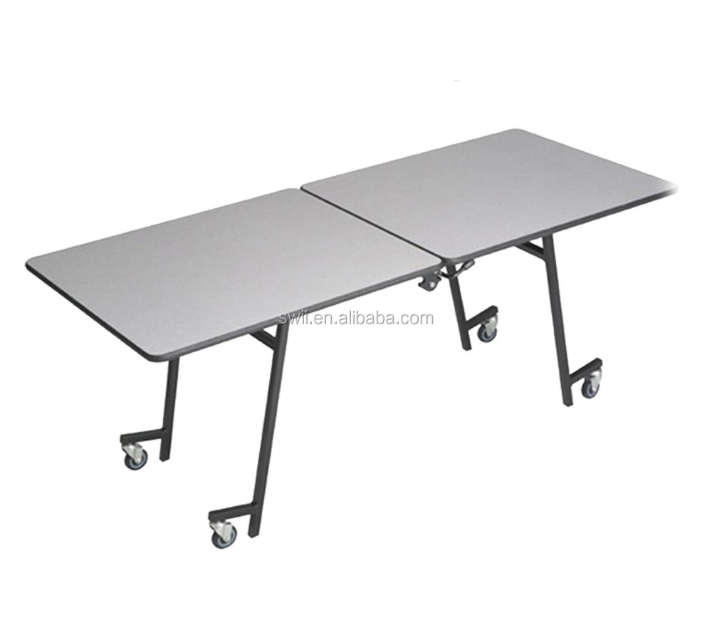 wholesale price strong banquet hall table banquet square folding table