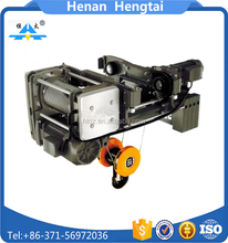European style double girder traveling type electric hoist with travel motor