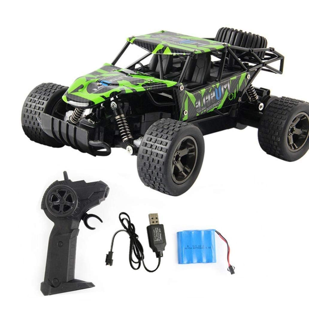 Outsta Radio Remote Control Car, Multiplecolor 2.4GHz High Speed RC Racing Car 4WD Remote Control Truck Off-Road Buggy Toys Truck Vehicle Electric Cars Gift for Boys (Multicolor-A)