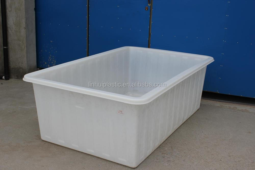 Stackable plastic bulk used chicken feed storage bins for for Used fish tanks for sale many sizes