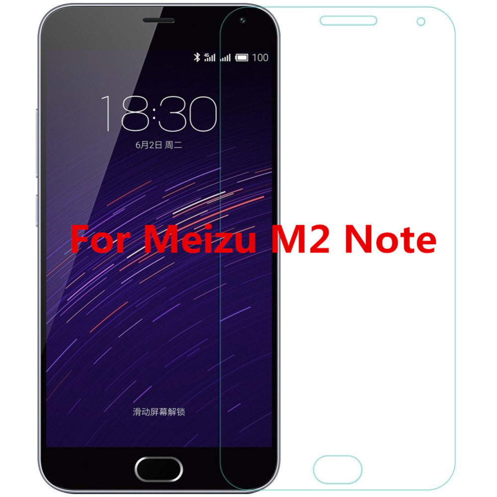 Screen Protector For MEIZU M2 NOTE Premium Tempered Glass 0 26mm 9H Anti Explosion 0 25D