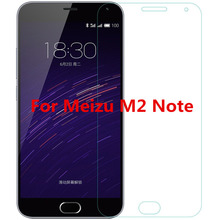 Screen Protector For MEIZU M2 NOTE Premium Tempered Glass 0.3mm 9H Anti-Explosion 0.25D Arc Edge glass film
