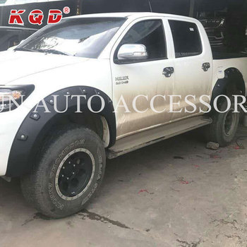 High quality Hot selling ABS Plastic wheel fender flare for hilux vigo