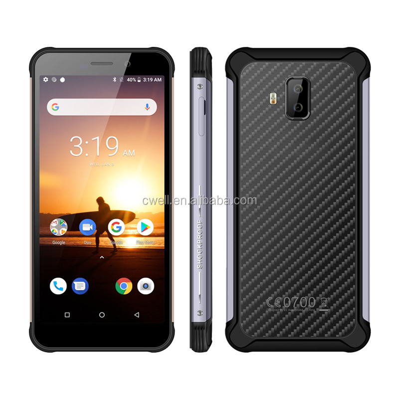 In Stocks 5.45 Inch 18:9 IPS Touch IP68 Waterproof Mobile Phone 3800mAh Big Battery Support GPS/GLONASS