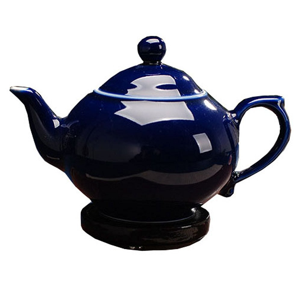 ufengke®jingdezhen ceramic high temperature blue-glaze porcelain teapot