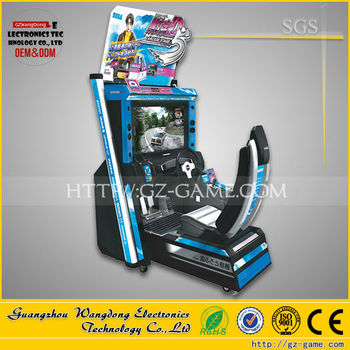 55 Inch Full-motion Arcade Car Racing Arcade Game Machine,Initial ...