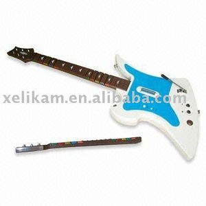 For Nintendo Wii wireless guitar for Wii guitar hero games