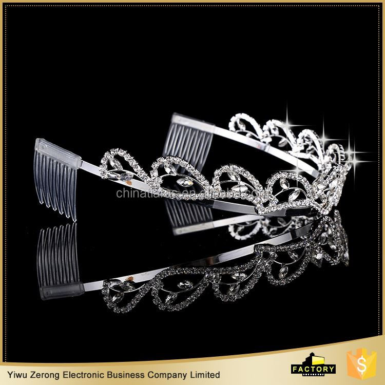 Latest Arrival excellent quality rhinestone tiara and crowns with good offer