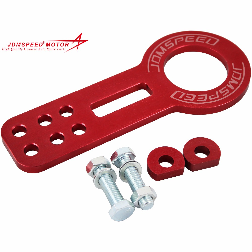 Red JDMSPEED Front Racing Tow Hook Car Accessories