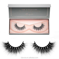Hot Selling 2018 New High Quality Private Label Rose Gold Eyelash Packaging
