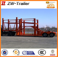 2 axle 8 cars loading capacity car carrier semi trailer hauler for africa