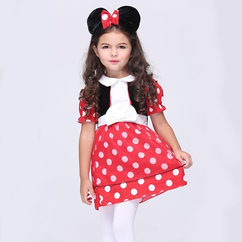 Direct Selling Girls Cute Mini Mouse Cosplay Clothing Child Fantasy font b Fancy b font font