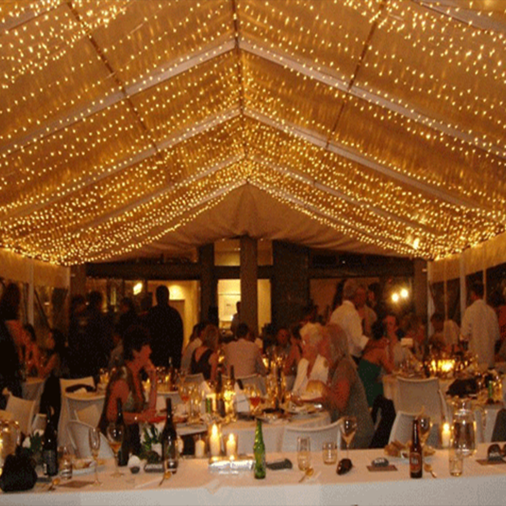 Wedding Ceiling Led Light String Ceiling Net Fairy Lights