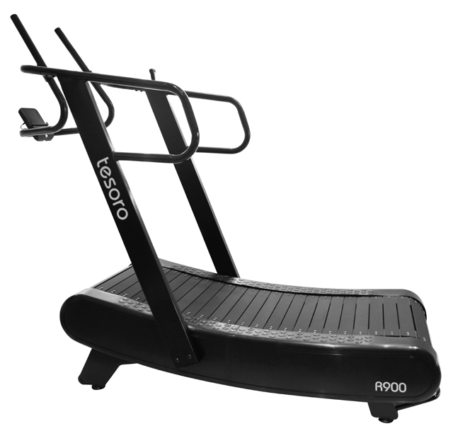 curved manul treadmill self powered treadmills skillmill fitmess gym equipment running machine non-motorized treadmill