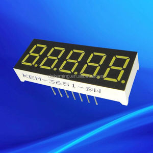 kem-3651 7-segment led 0.36 inch led 7 segment display 5 digits
