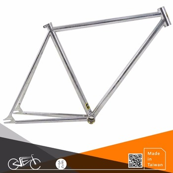 Taiwan 700C Classic Bike Frame Chrome paint bicycle frame set