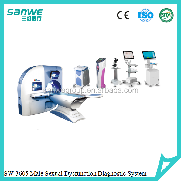 male sexual dysfunction work station,large diaggnostic and therapeutic system for andrology