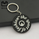 Custom make your own silicone cheap wholesale keychains