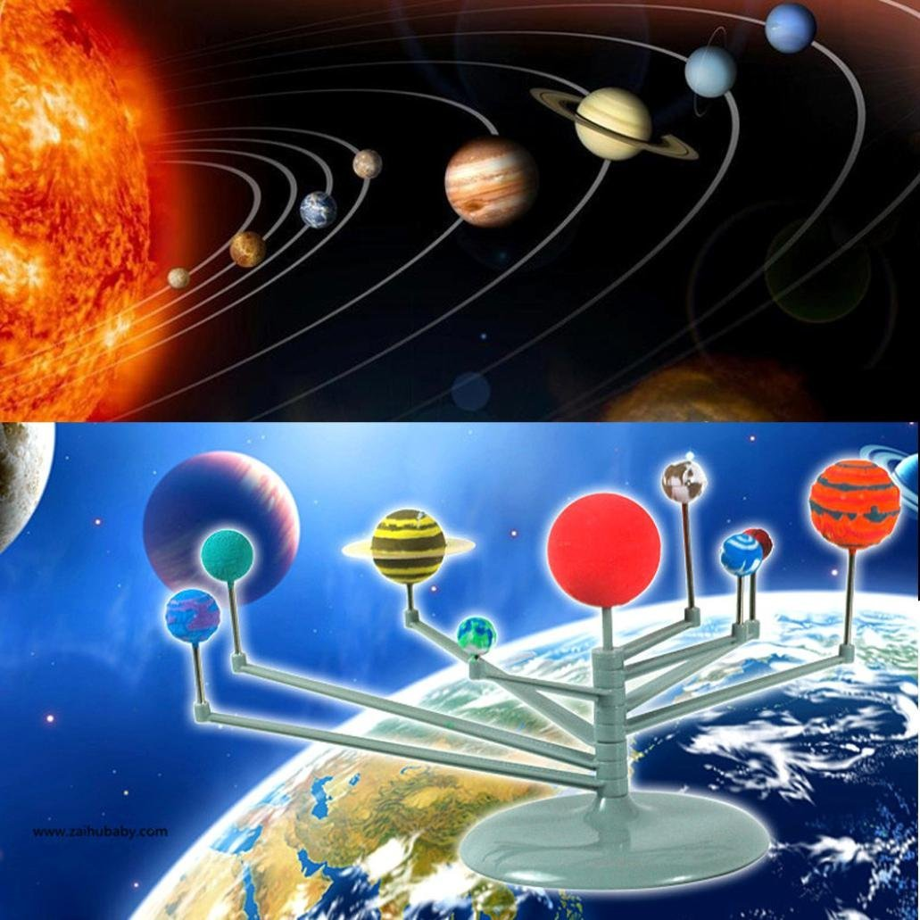 37-1//2 Length x 26 Width American Educational New Solar System Science Poster