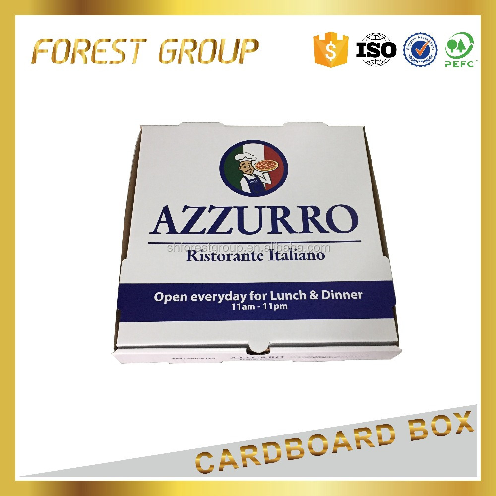 Kraft Cardboard Paper Food Packaging Pizza Boxes price