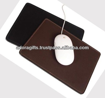 adapmp 0040 bulk mouse pad leather mouse pad for office use